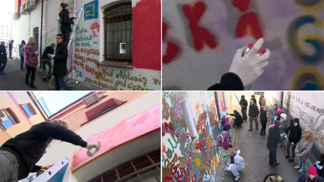 Wielki mural na urodziny brandta ma zmieni wygl d for Mural warszawa 44