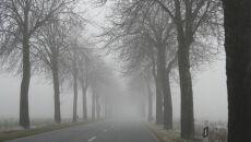 Mgły, deszcz, śliskie drogi