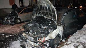 Policja zatrzymała podejrzanego o podpalenie aut w centrum