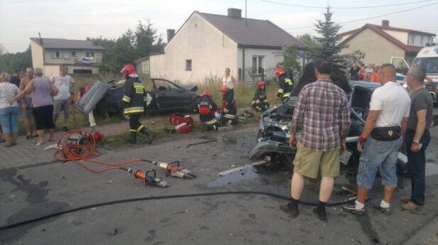 Wypadek w Ossowie Bubik / Kontakt24