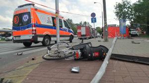 Śmierć rowerzystki na Fieldorfa: są zarzuty dla drugiego kierowcy