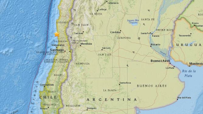 Kolejne silne wstrząsy w Chile. Stolica znów zadrżała