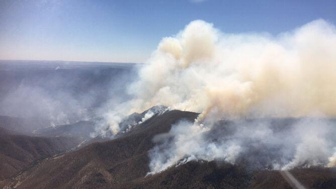 Ostrzeżenie dla mieszkańców. <br />Pożary trawią północną Australię