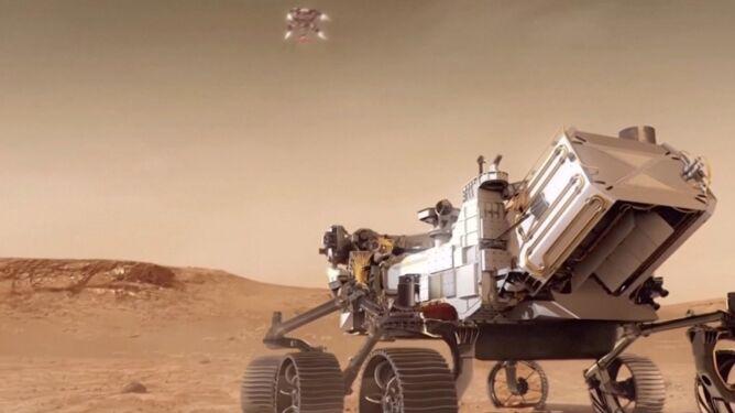 Próba lądowania łazika na Marsie już dziś