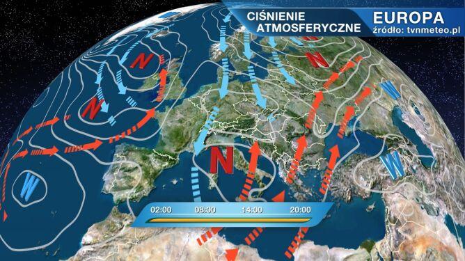 Do Polski napływa arktyczne powietrze. Chłód się wzmaga