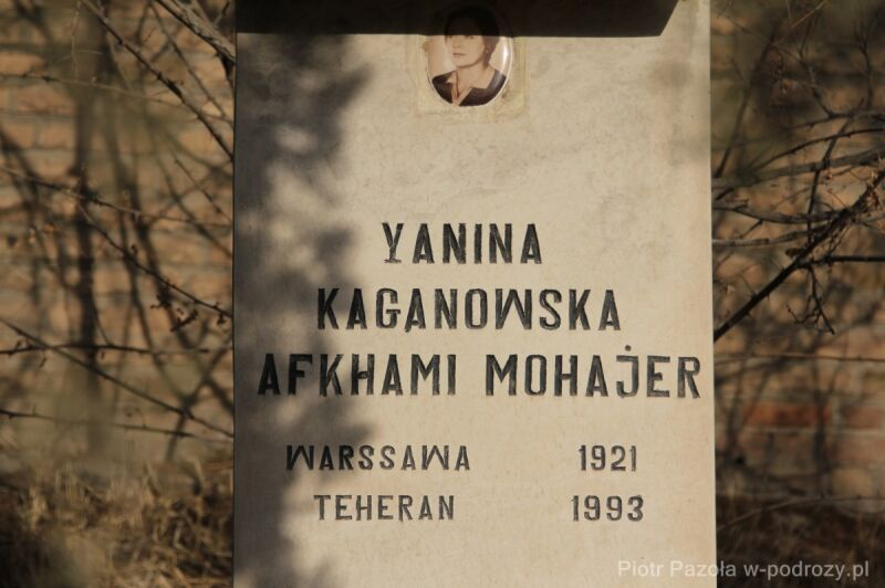 Najmłodszy grób na katolickim cmentarzu Dalub w Teheranie
