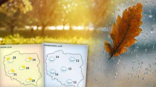 Gorące pożegnanie lata. Początek jesieni z gwałtowną zmianą pogody