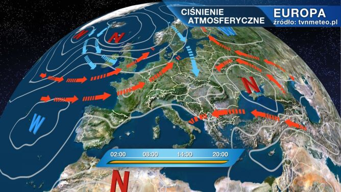 Do Polski napływa chłodniejsze powietrze
