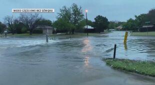 Powódź błyskawiczna w Teksasie