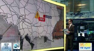 Gdzie warunki drogowe są najgorsze, raport Łukasza Gonciarskiego (TVN24)